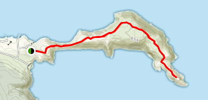 Bald Head Hike Map