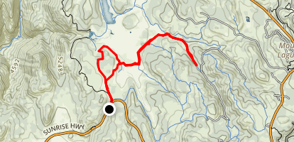 Mount Laguna - Agua Dulce Loop Map