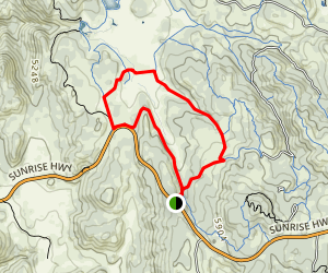 Old County Road and Chico Ravine Trail Map