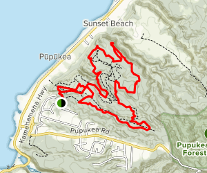 Pupukea-Paumalu Trail Map