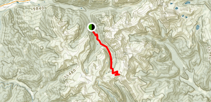 Montezuma to Webster Pass Map