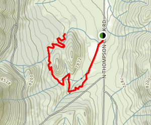 Paul's Point (Spring Gulch Trail System) Map