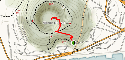 Mount Nuovo Trail Map