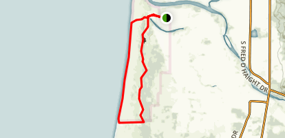 The Yontocket Big Beach Loop Map