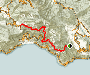 Eye of the Gods Trail Map