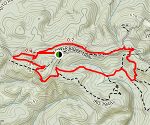 Coffeeberry - Lower Ridge - Pine Loop Map