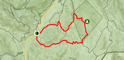 Juaquapin Trail Map
