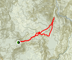 Trout and Willow Meadows Map