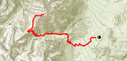 Mount Tom via Horton Lake Trail Map