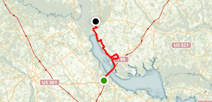 Palmetto Trail: Lake Marion Passage Map