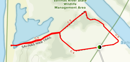 Salinas River National Wildlife Refuge Map