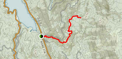 Brown's Ditch Trail Map