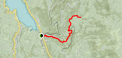 Brown's Ditch Trail [PRIVATE PROPERTY] Map