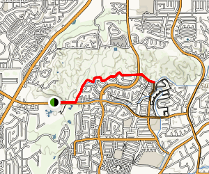 Castlewood Trail Map