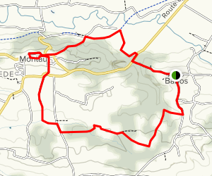 The Viewpoints Loop Trail Map