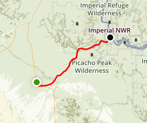 Indian Pass Road Map