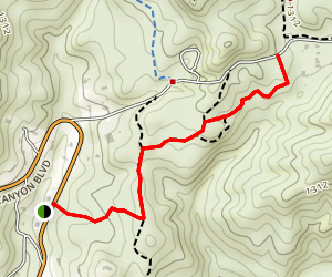 Santa Maria Creek Trail Map