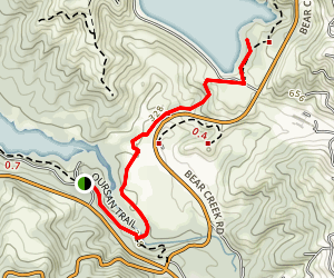 Oursan Trail Map