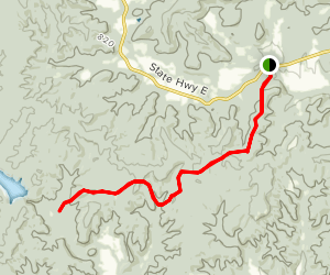 The Ozark Trail: Marble Creek Section Map