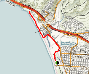 Coastal Access Trail at Pismo Beach Map