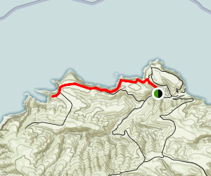 Potato Cove Hike  Map