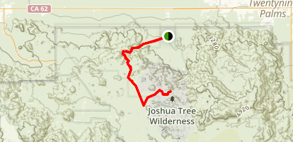 Boy Scout Trail To Willow Hole Map