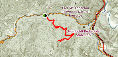 Johnson Camp Trail Map