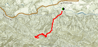Hi Mountain Trail Map