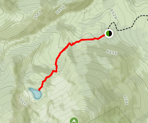 Emma Lake Trail Map
