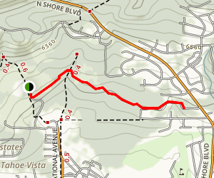 Pine Drop Trail Map