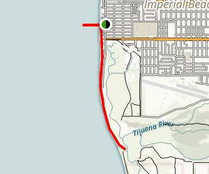 Imperial Beach Shoreline Trail Map