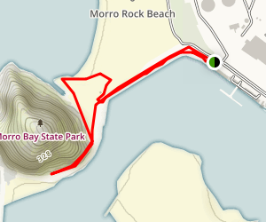 Morro Bay Harbor & Estuary Map