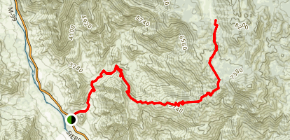 Cannell Meadow Trail Map
