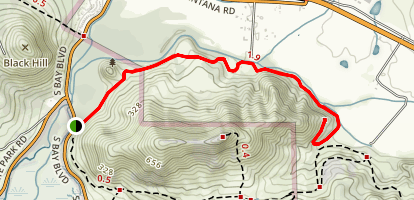 Turtle Rock Trail Map
