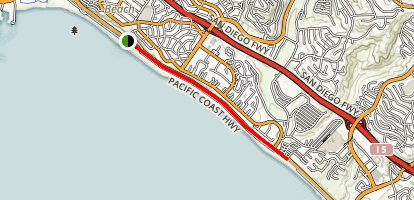 Doheny Beach Trail Map