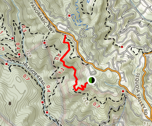 Redwood Trail Map