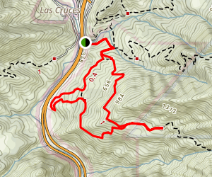 Tunnel View Loop Trail Map
