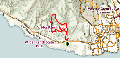 Wilder Ridge Trail Map
