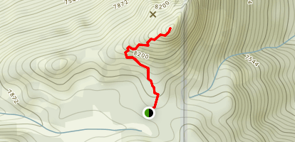 Lookout Peak Hike Map