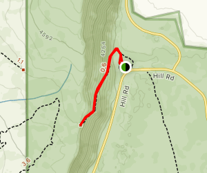 Gillem Bluff Historic Trail Map