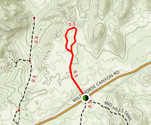 North Mid Hills Trail Map