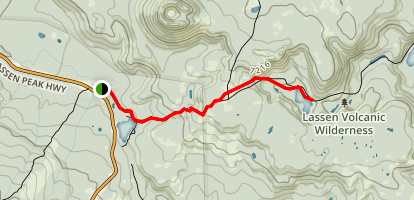 Echo Lake Trail Map