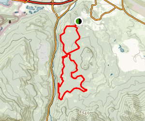 Sawtooth Loop Trail Map
