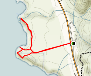 Pacific Valley Bluff Trail Map