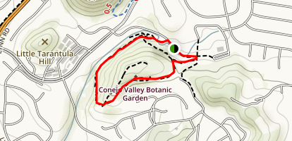 Conejo Valley Botanic Garden Map
