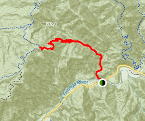 Gold Canyon Trail (CLOSED) Map