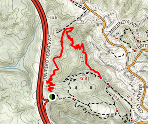 The Dusty Footed Wood Rat Trail Map