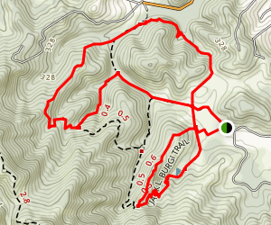 Jack L Burgi and Witzl Trail Loop  Map