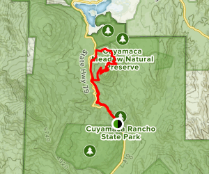 Cold Stream Loop Trail Map