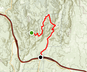 Fred Canyon Road Map